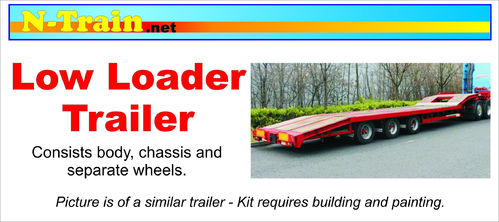 3D Printed Low Loader Trailer