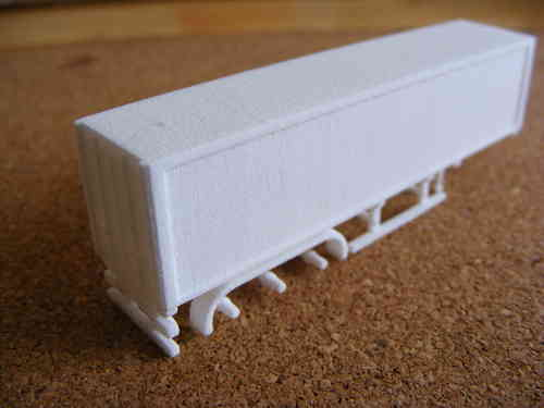 3D Printed Box Trailer