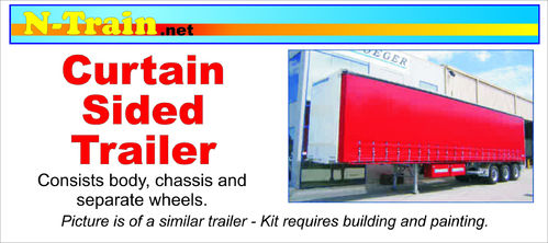 3D Printed Curtain Side Trailer