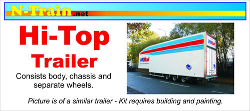 Hi Top Box Trailer