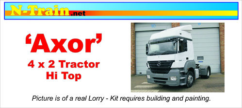 'Axor' 4x2 Tractor Unit Hi Roof