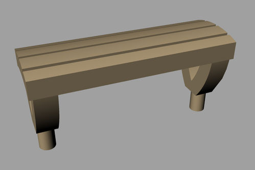 Lineside accessories Seat Style 1