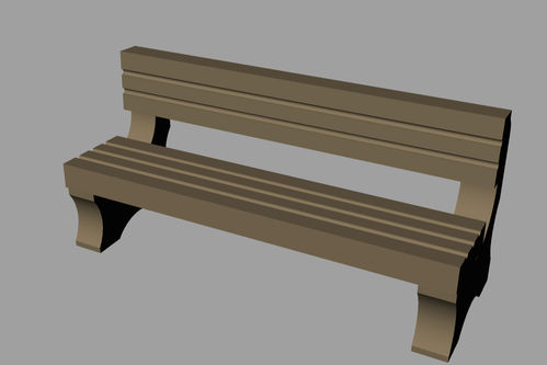 Lineside accessories Seat Style 2
