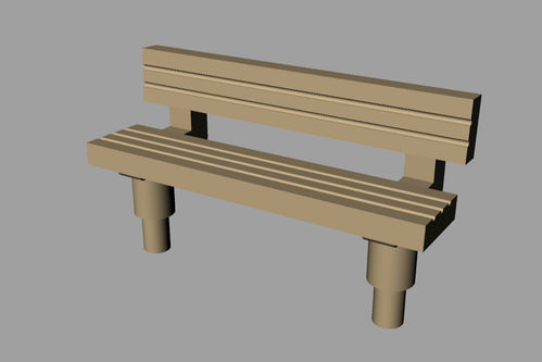 Lineside accessories Seat Style 3