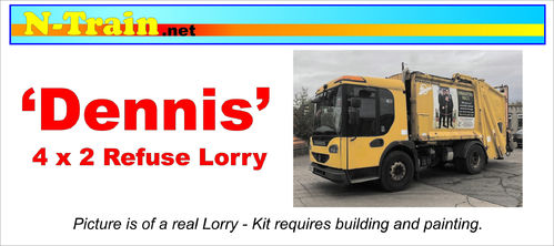 'Dennis' Refuse Lorry 4 x 2