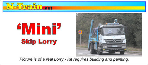 'Mini' 6x4 Skip Lorry